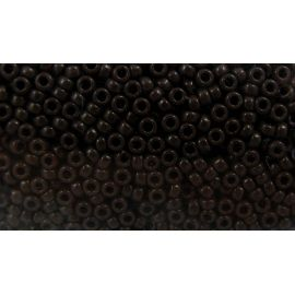 MIYUKI biseris Japoniška kokybė. Stikliniai karoliukai vėrimui Rudos spalvos, apvalios formos (Rocailles), kaina - 0,7 Eur už 1