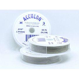 ACCULON troselis, pilkos spalvos , 1 ritinėlis