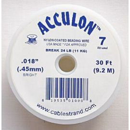 ACCULON jewelry wire thickness ~0.45 mm, 1 ritinėlis