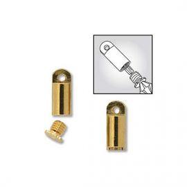 Beadsmith paaukwithotas užwithkamas Necklace Clasp size ~10x4 mm, 1 pc.
