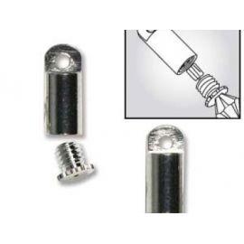 Beadsmith pasidabruotas užwithkamas Necklace Clasp size ~10x4 mm, 1 pc.