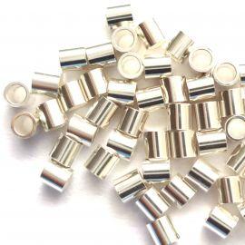 Sidabrinis spaustukas 925 1x2 mm, 10 vnt.
